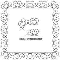 Double Heart Border-2 Set