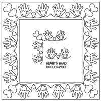 Heart N Hand Border-2 Set