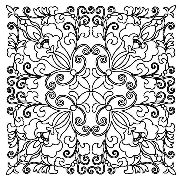 Block Design-10A Pillow