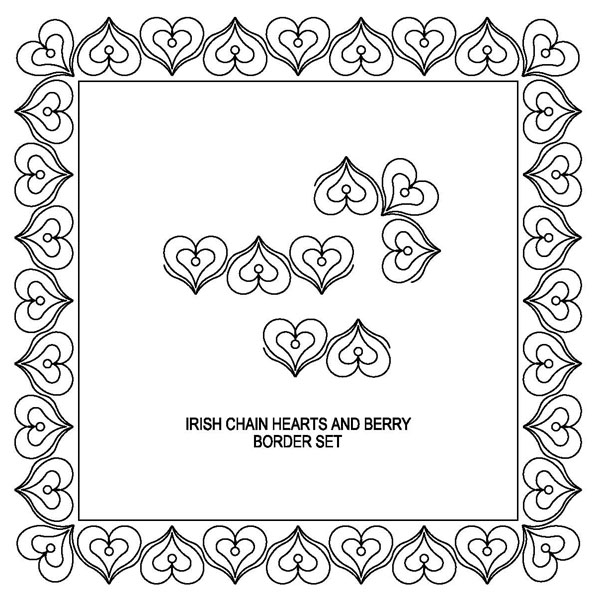Hearts & Berries Border Set