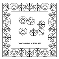 Canadian Leaf Border Set