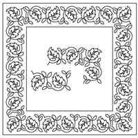 Dancing Leaves-2 Border Set
