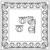 Pumpkin-1 Border Set