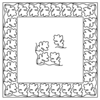 Oak Leaf-3 Border Set