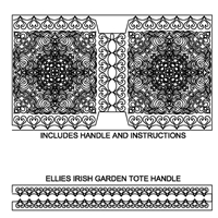 Ellies Irish Garden Tote Bag
