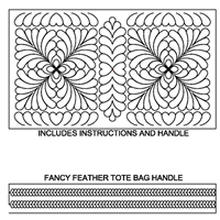 Fancy Feathered Tote Bag