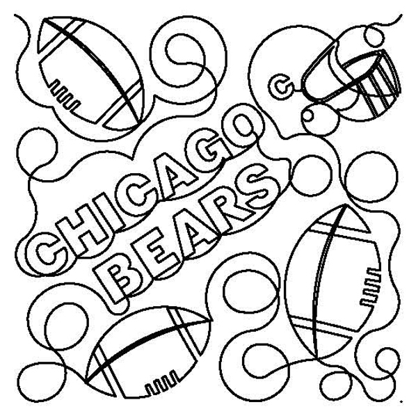 Footballs- Chicago Bears E2E