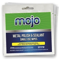 Mojo Metal Polish Truck Cleaning Sealant Wipes by Roadworks