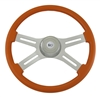 "18"" Classic Orange Steering Wheel"