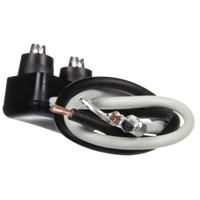 Marker Clearance Plug, 16 Gauge GPT Wire, PL-10 Right Angle, Stripped End/Ring Terminal, 6.5 in.