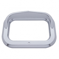 Rectangular Light Bezel w/ Visor