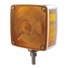 Square Double Face Turn Signal Light - Single Stud