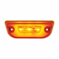 "11 LED ""GLO"" Cab Light For Peterbilt 579 & Kenworth T680 - Amber LED/ Amber Lens"