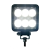 6 High Power LED Square Work Light