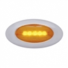 "5 LED ""Phantom II"" Clearance/Marker Light - Amber LED/Amber Lens"