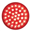 "36 LED Economy 4"" Stop, Turn & Tail Light - Red/Red Lens"