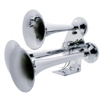 3 Trumpet Chrome Train Horn - Standard Duty