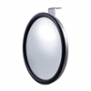 "Stainless 7 1/2"" Convex Mirror - Offset Stud"