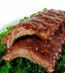 Fully Cooked Luscious Baby Back Pork Ribs (5 racks - 1.5lb each)