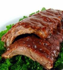 Fully Cooked Luscious Baby Back Pork Ribs (6 racks - 17oz each)