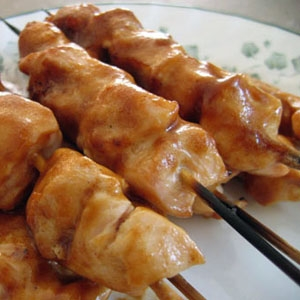 BBQ Honey Chicken Kabobs