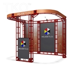 HELIOS - 10X10 TRADE SHOW DISPLAY