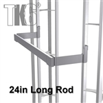 Hang Bar 24in long, 6in Offset, fits TK6 Display Truss