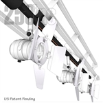 LIGHTING TRACK WITHIN 48B TRUSS, 3 PAR16 LIGHTING FIXTURES AND 1, 150W-120V TO12V TRANSFORMER, TK6-48T-150W-3FX