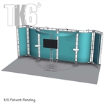 ALLIANCE - 10FT X 20FT ALUMINUM TRUSS DISPLAY <BR> [FRAME ONLY]