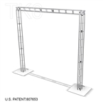 AKRON - 10FT X 10FT TK6 BOX TRUSS ARCH DISPLAY <BR> [FRAME ONLY]