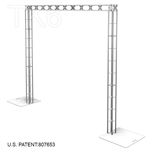 ATHENS - 11FT X 11FT TK6 BOX TRUSS ARCH DISPLAY <BR> [FRAME ONLY]