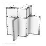 HARTFORD, 20 X 20 ALUMINUM TRADE SHOW TRUSS DISPLAY EXHIBIT BOOTH