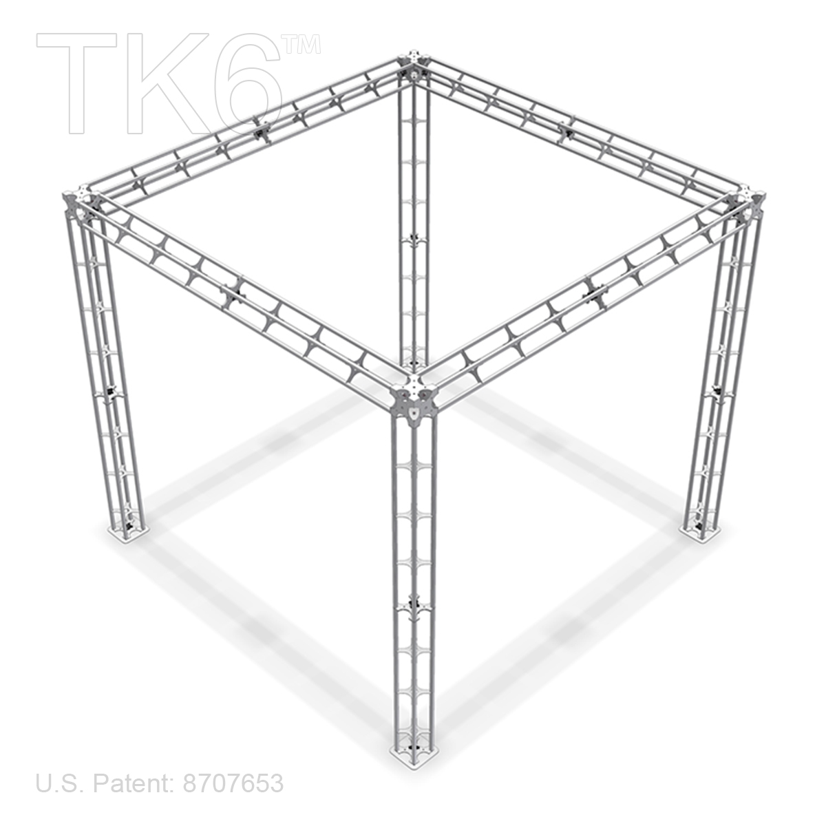 BETHEL - 10FT X 10FT ALUMINUM TRUSS DISPLAY [FRAME ONLY]