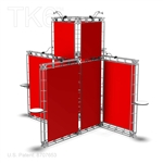 BONN - 20FT X 20FT ALUMINUM TRUSS DISPLAY <BR> [FRAME ONLY]
