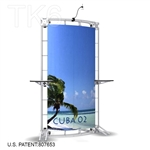 CUBA 2, 10 X 5 ALUMINUM TRADE SHOW TRUSS DISPLAY EXHIBIT BOOTH