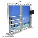 CUBA 6, 10 X 5 ALUMINUM TRADE SHOW TRUSS DISPLAY EXHIBIT BOOTH