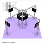 20FT X 20FT TK6 MEDIA TOWER ALUMINUM TRUSS DISPLAY <BR> [FRAME ONLY]