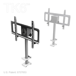 MONITOR MOUNT WITH 36IN SWING ARM, UPRIGHT, TK6