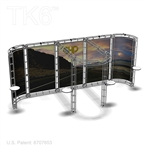 OTTER - 10FT X 20FT ALUMINUM TRUSS DISPLAY <BR> [FRAME ONLY]