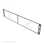 SIGN FRAME, FLAT, 96IN BY 18IN FOR TK6 DISPLAYS