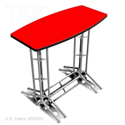 TKP™ Counter, TK6 TRUSS, 4FT WIDE BY 42 INCHES TALL