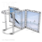 UBJ - 10FT X 20FT ALUMINUM TRUSS DISPLAY <BR> [FRAME ONLY]