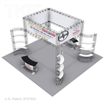 VANCOUVER, 20 X 20 TRADE SHOW TRUSS DISPLAY EXHIBIT BOOTH