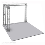 Matthew - 10 X 10 Ft Aluminum TK8 Box Truss Display Booth