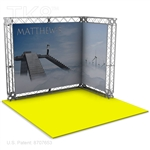 Matthew-Base - 10 X 10 Aluminum TK8 Box Truss Booth