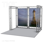 Joshua-Base - 10 Ft X 10 Ft Aluminum TK8 Box Truss Booth