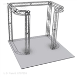 Benjamin - 10 Ft X 10 Ft TK8 Aluminum Box Truss Booth