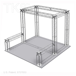Henry - 10 Ft X 10 Ft TK8 Aluminum Box Truss Booth