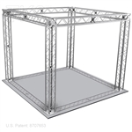 Jacob - 10 Ft X 10 Ft TK8 Aluminum Box Truss Booth