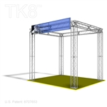 Jacob - Sign - 10 Ft X 10 Ft Aluminum Box Truss Booth |  Trade Show Truss Kit